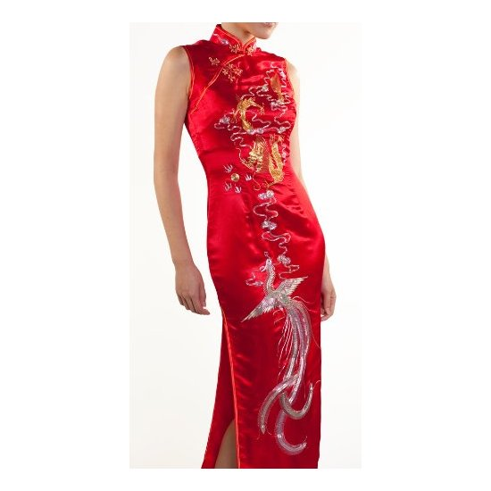 West cheongsam the chinese wedding dress a perfect setting