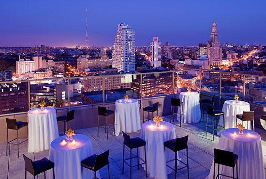 Rooftop restaurant brooklyn for Alma terrace york