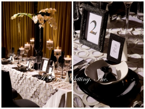 Although ... & Tablescape Inspiration: A Refined Modern Table Setting in Classic ...