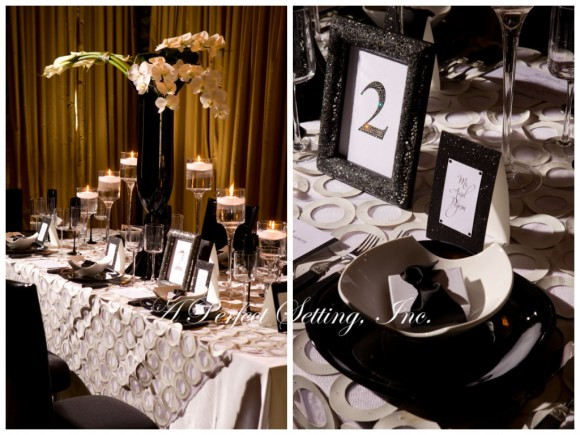 Tablescape Inspiration A Refined Modern Table Setting In